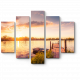 Тихий закат у озера