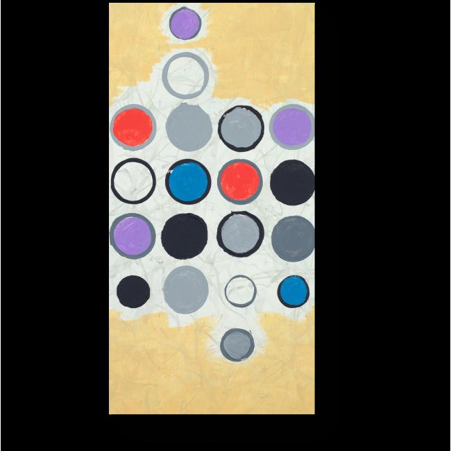 Модульная картина Круги и полосы