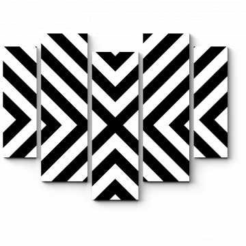 Модульная картина Минималистичные полосы