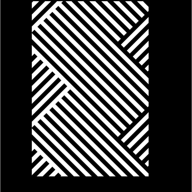 Модульная картина Переплетение линий