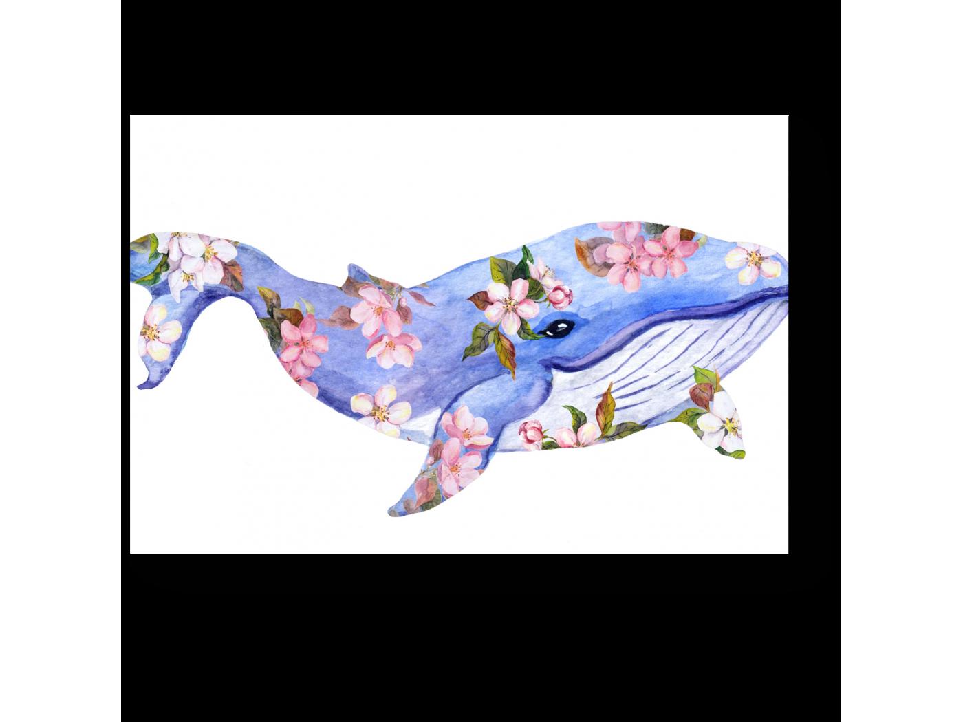 Модульная картина Весенний кит (30x20) фото