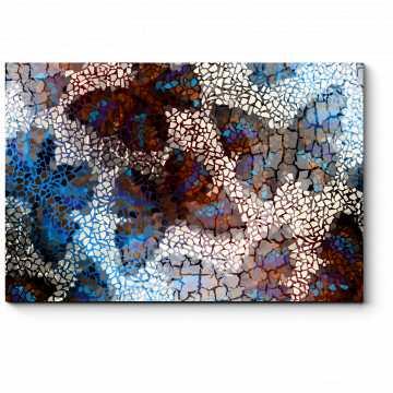 Модульная картина Узор из бабочек