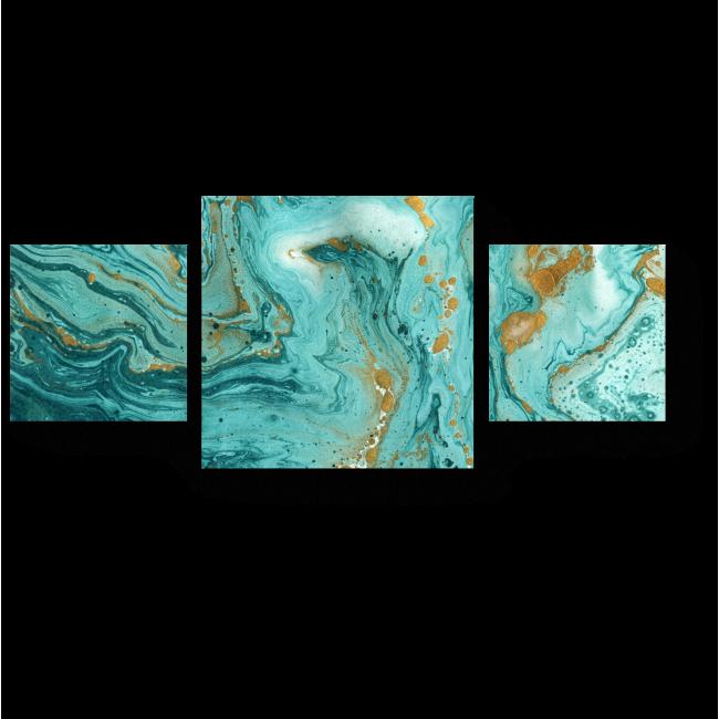 Модульная картина Бездонная глубина