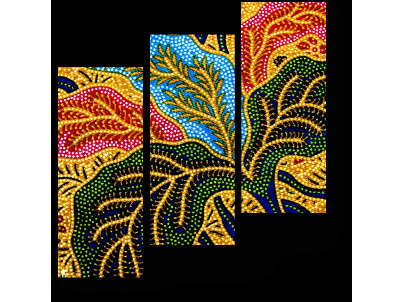 Модульная картина Распустившийся цветок (60x64) фото