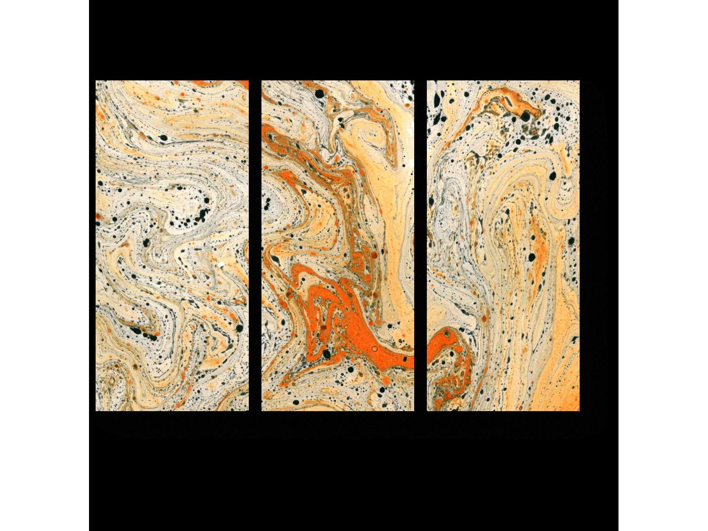 Модульная картина Краски золотой осени (60x43) фото