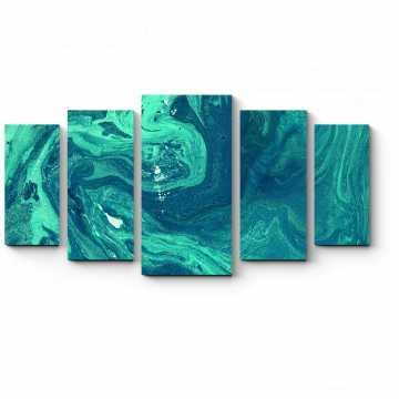Модульная картина Глубина северного моря