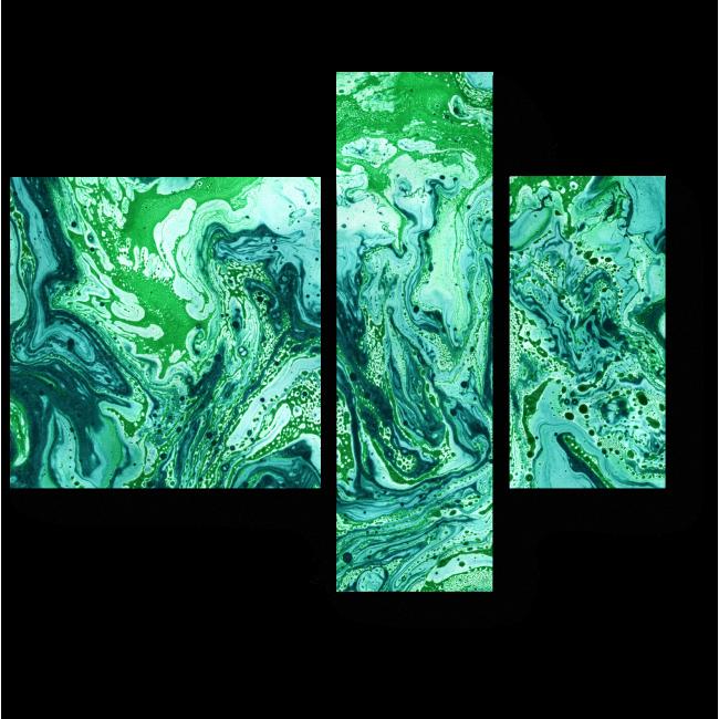 Модульная картина Лес