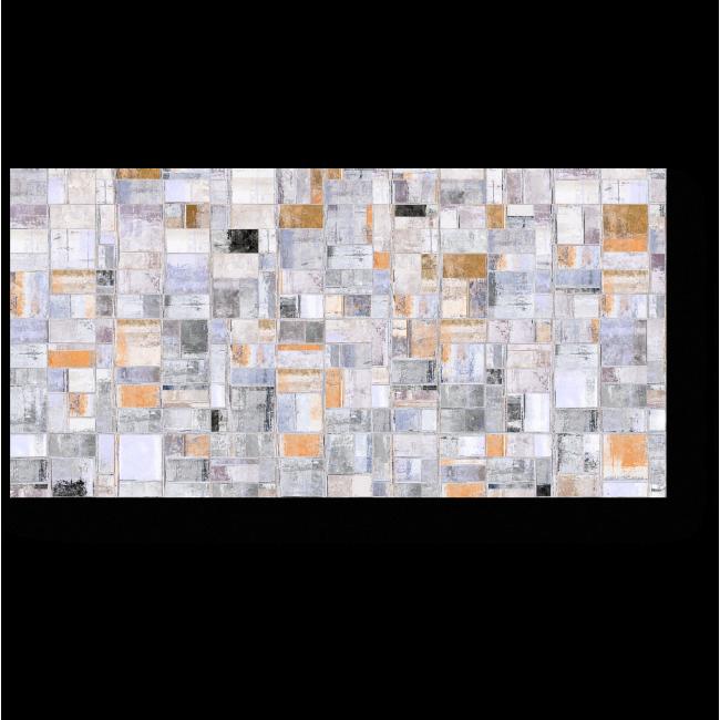 Модульная картина Свет окон соседского дома