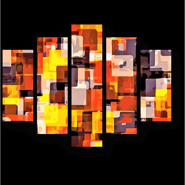 Модульная картина Стильная геометрия