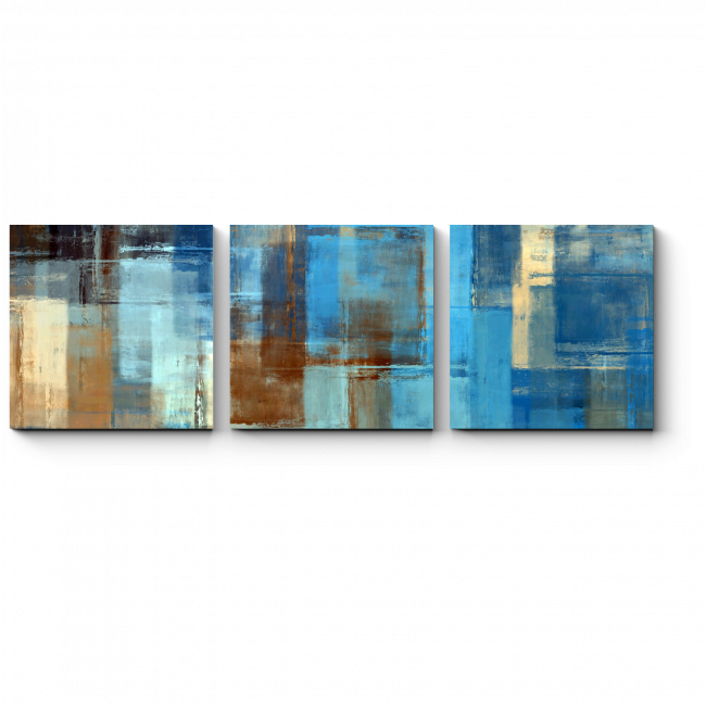 Модульная картина Квадраты