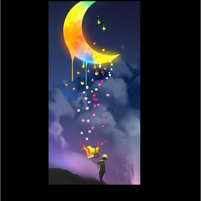 Модульная картина Магическая ночь