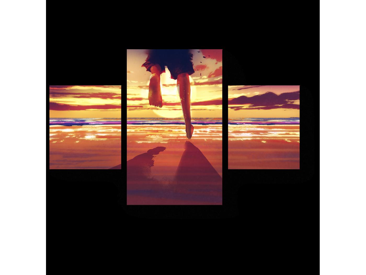 Модульная картина Навстречу счастью (80x52) фото