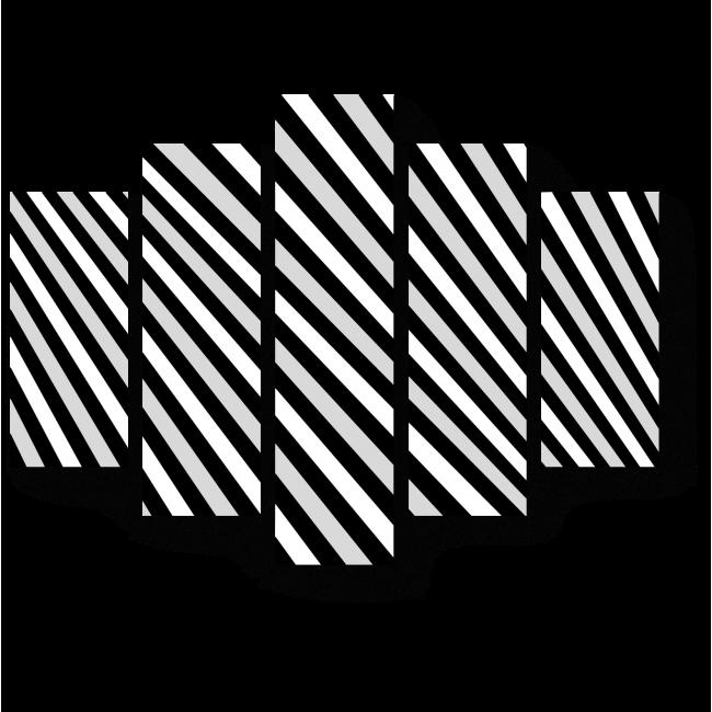 Модульная картина Иллюзия