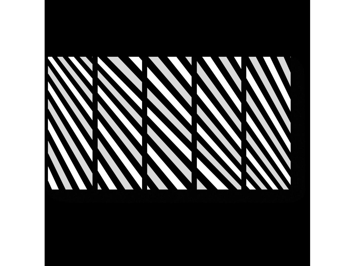 Модульная картина Иллюзия (90x54) фото