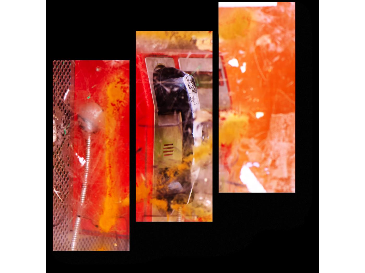 Модульная картина Городской дух (60x64) фото