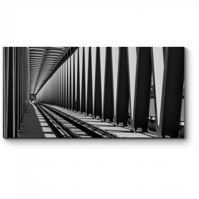 Модульная картина Железный мост