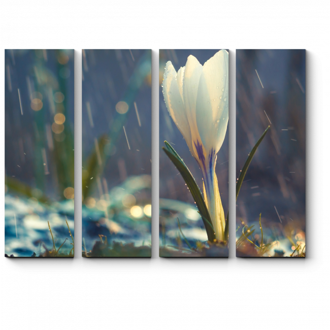 Модульная картина Весна пришла!