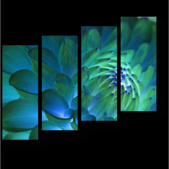 Модульная картина Неземная красота