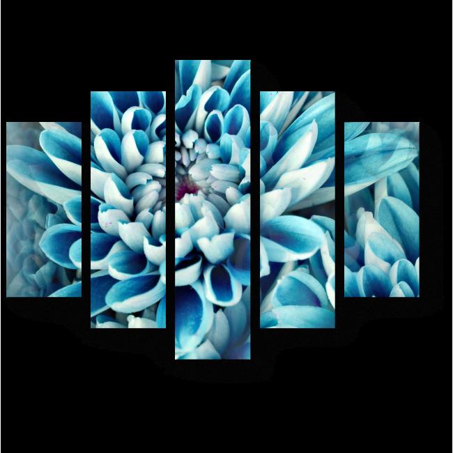 Модульная картина В сердце цветка