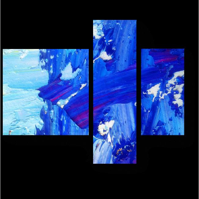 Модульная картина Синева