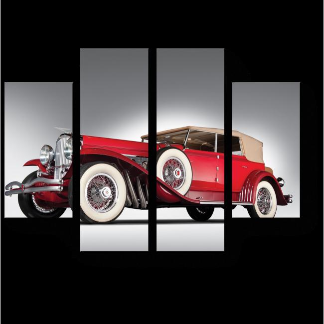 Модульная картина Винтажное авто