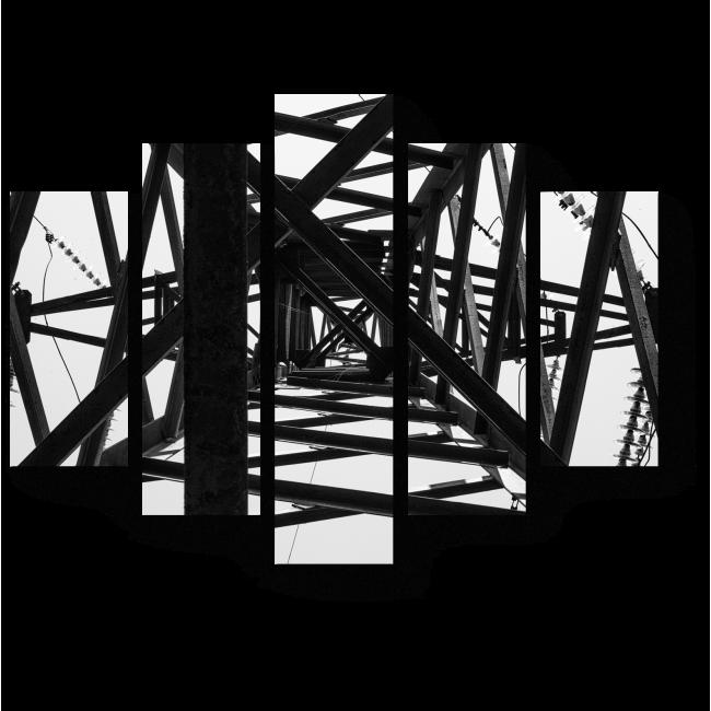 Модульная картина Взгляд изнутри