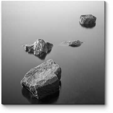 Модульная картина Камни и вода