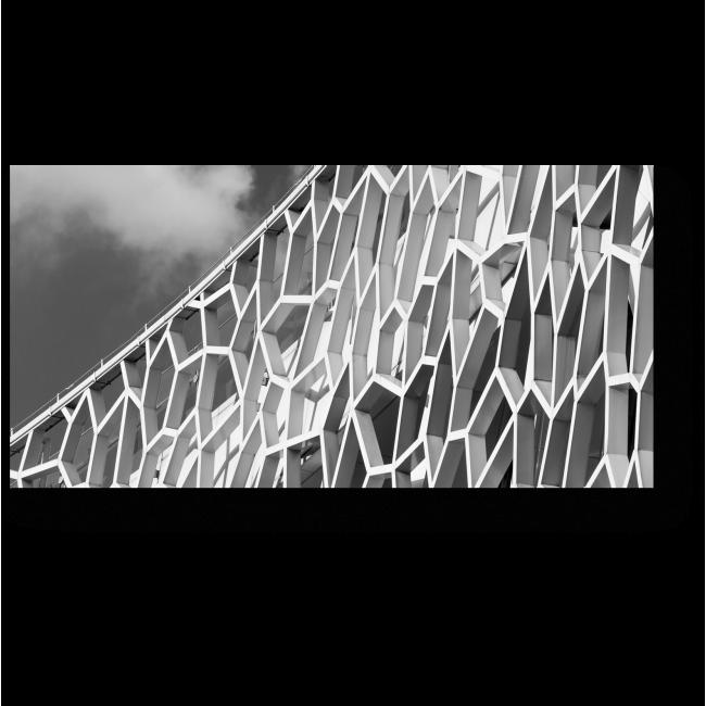 Модульная картина Архитектурная фантазия
