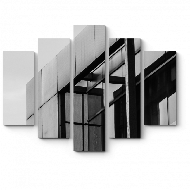 Модульная картина Чистота линий
