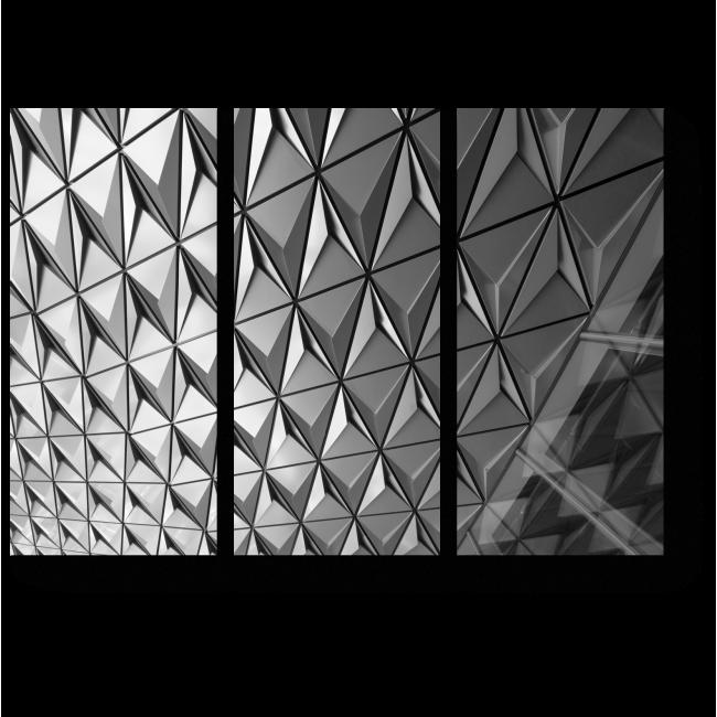 Модульная картина Рельеф и текстура