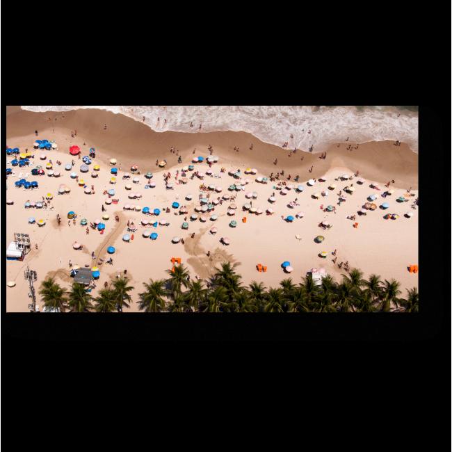 Модульная картина На пляже