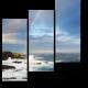 Морской пейзаж с радугой