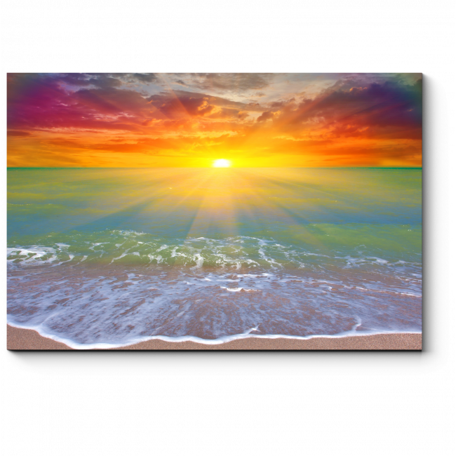 Модульная картина Сияющий океан