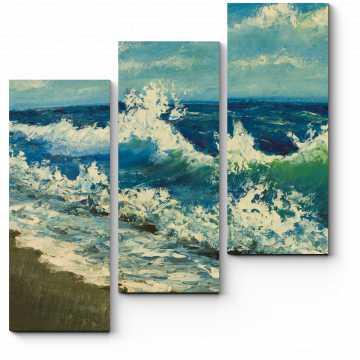 Модульная картина Море импрессионизма
