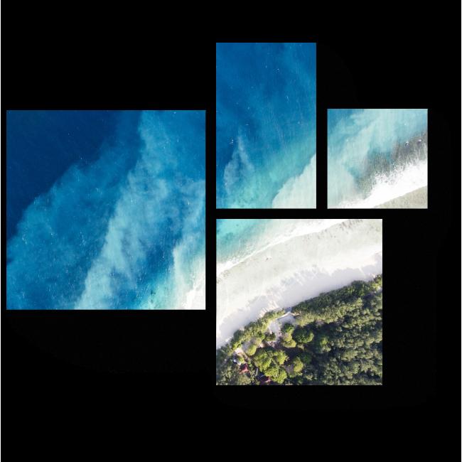 Модульная картина Чарующий океан