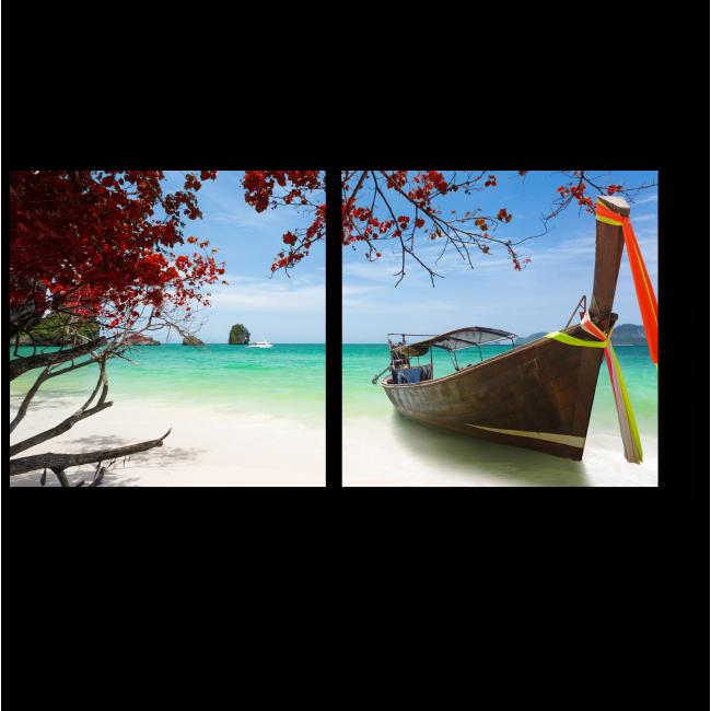 Модульная картина Тропический пляж Краби