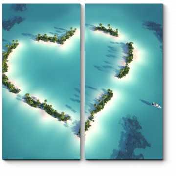 Модульная картина Море романтики