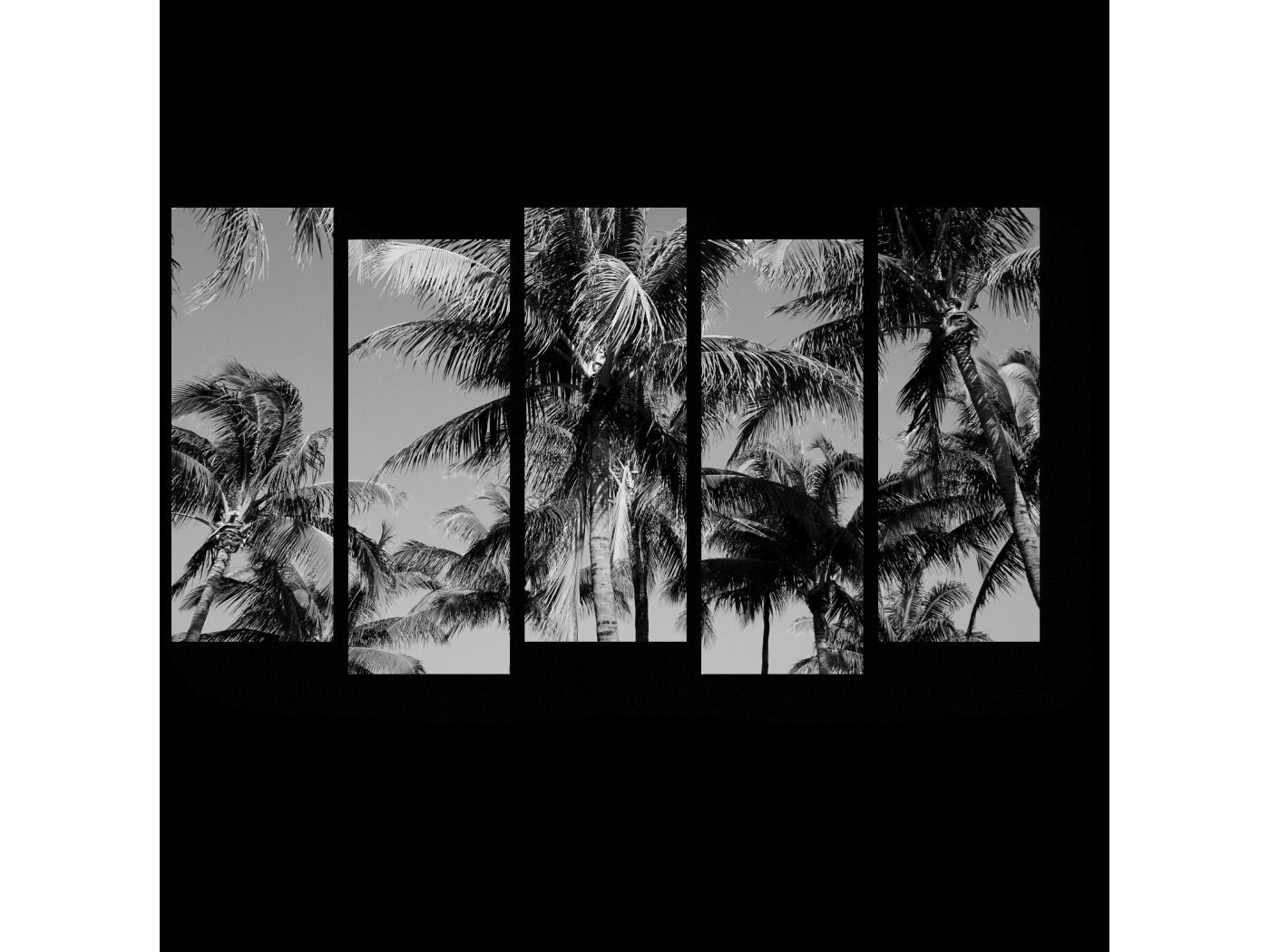Модульная картина Жаркие тропики (90x52) фото