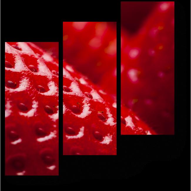 Модульная картина Клубничный рай
