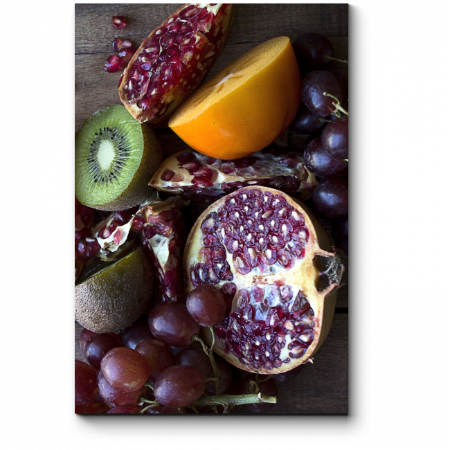 Модульная картина Экзотические фрукты