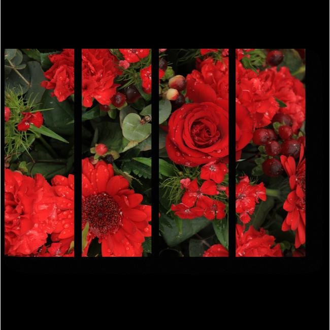 Модульная картина Алое цветение