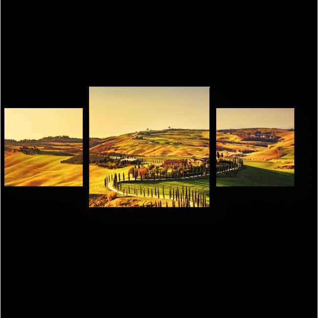 Модульная картина Тоскана
