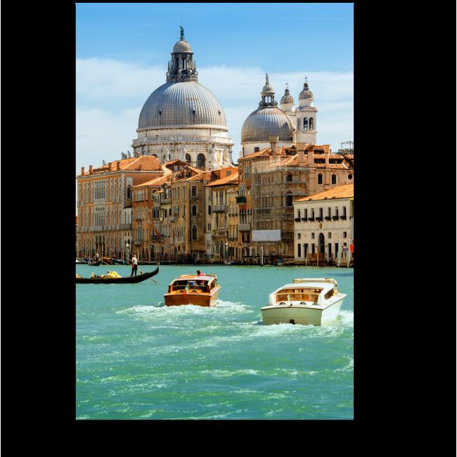 Модульная картина Гранд-канал и Базилика Санта-Мария Делла Салюте
