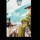 Вид на улицу в Италии