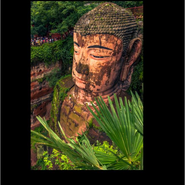 Модульная картина Великий Будда в Лэшань