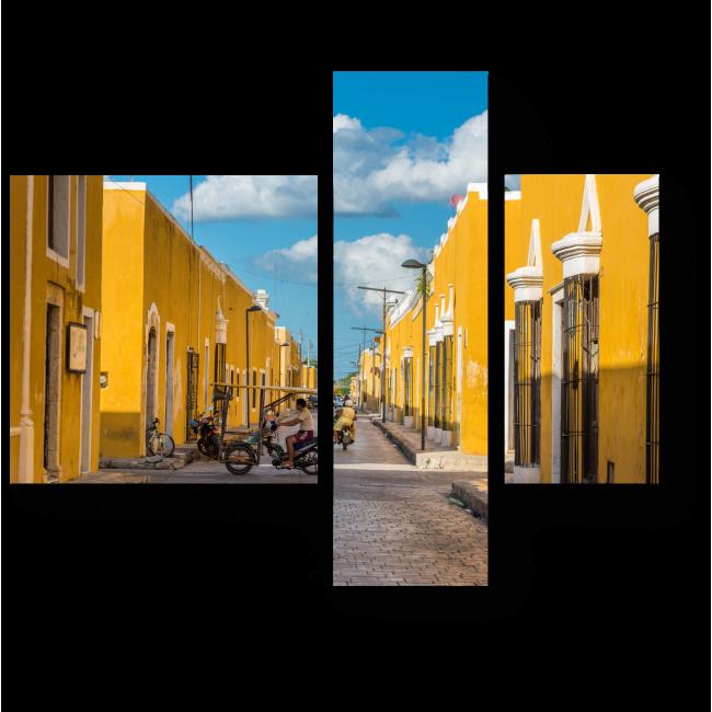 Модульная картина Исамаль - желтый город