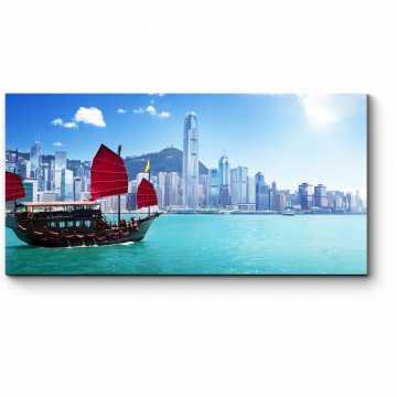 Модульная картина Чарующая бухта Гонконга