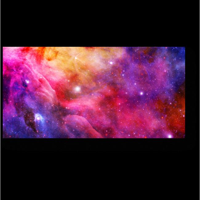 Модульная картина Вселенная цвета