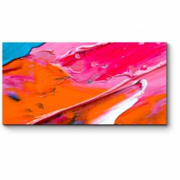 Модульная картина Взрыв цвета