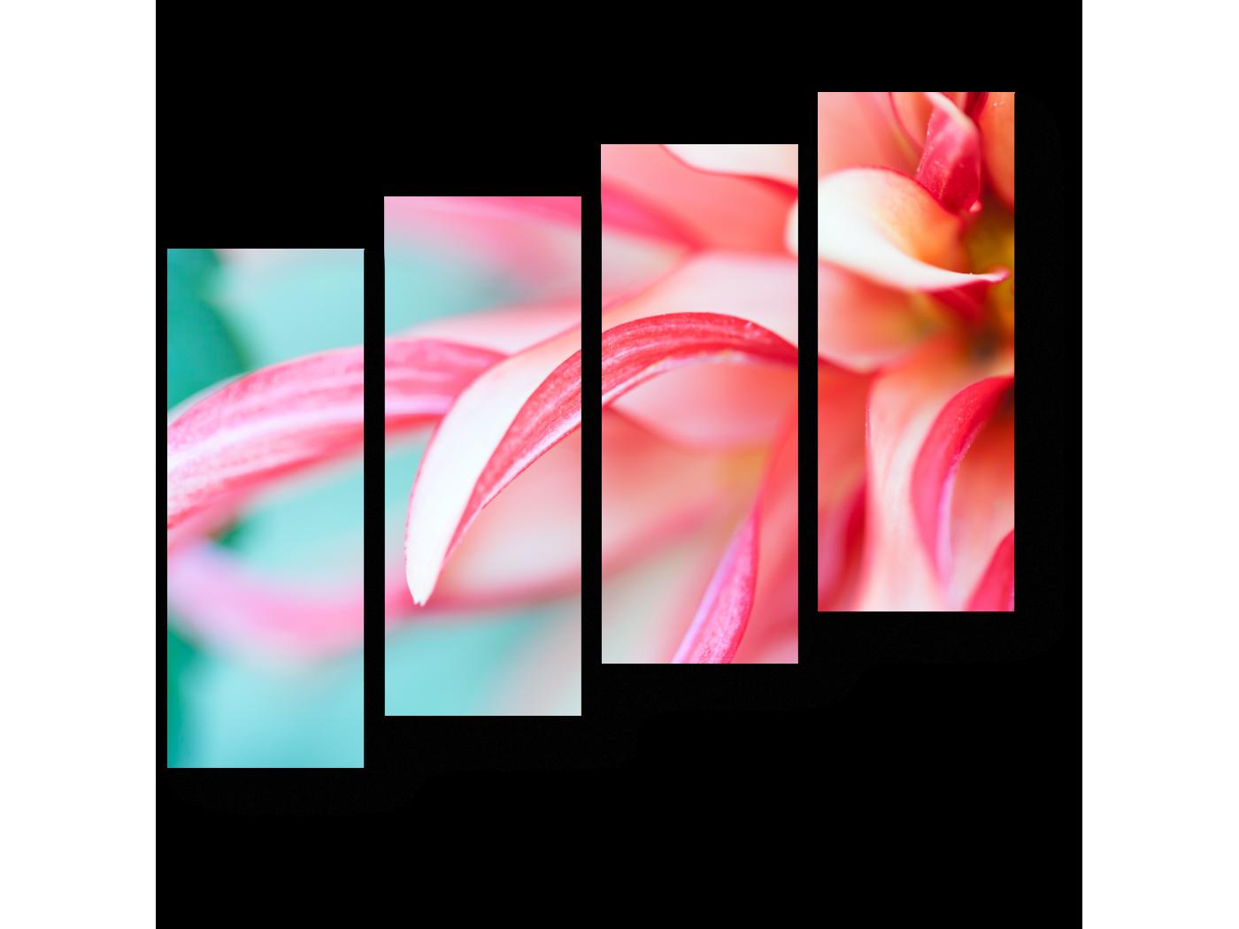 Модульная картина Совершенные изгибы (80x69) фото